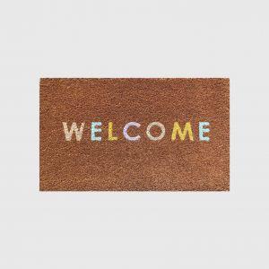 Doormat Welcome Colours
